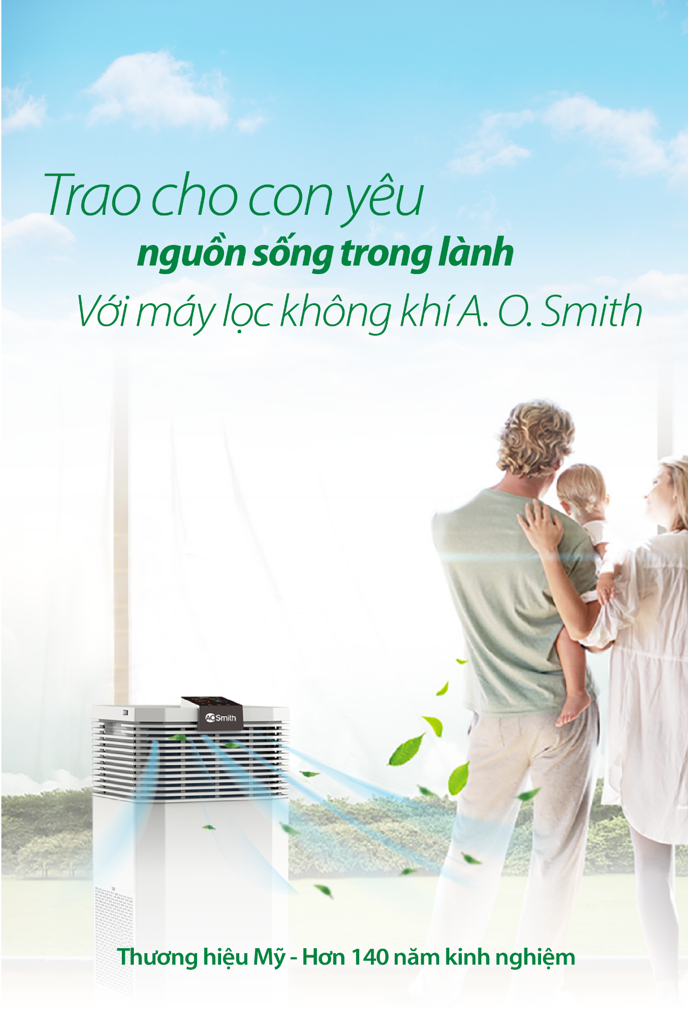 Máy Lọc Không Khí A. O. Smith