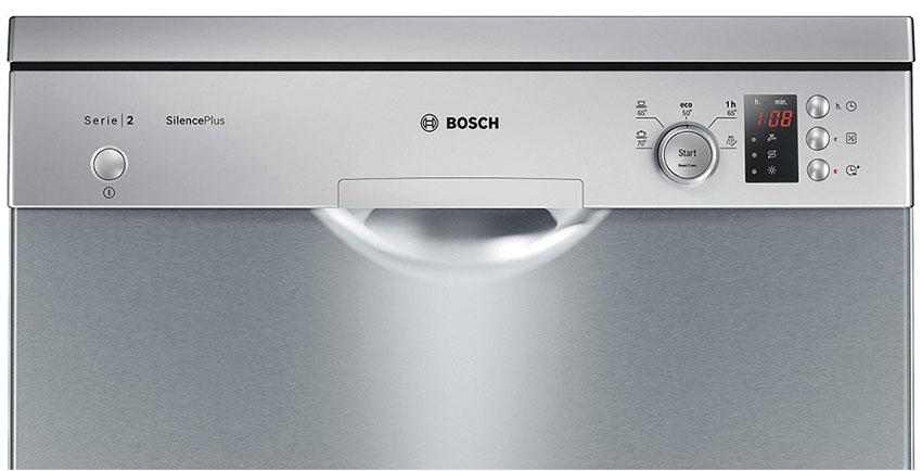 Bảng điều khiển của máy rửa bát Bosch SMS25DI05E